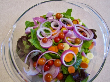 Summer salad October 5, 2017